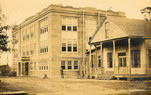 First public school buildings in Slidell